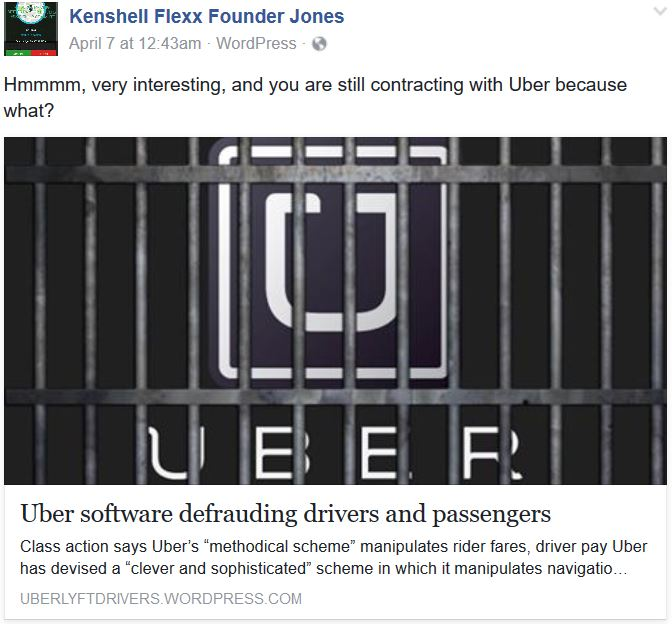 Uber Software Defrauds Drivers and Passengers